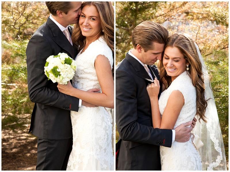 Temple Square Wedding Photographer