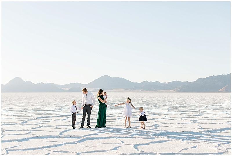 Salt Flats Family Photos