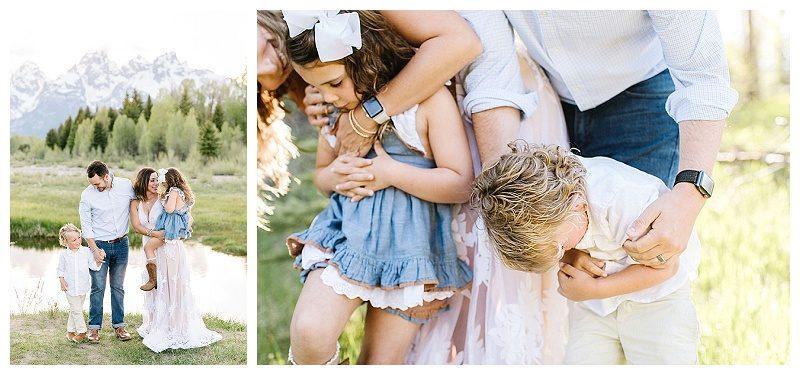 Jackson Hole Summer Family Photos
