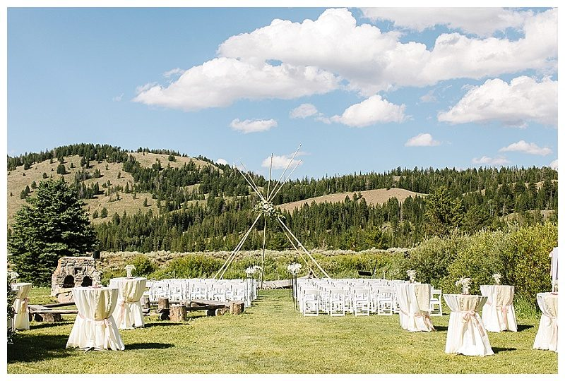 Destination Wedding in the Tetons